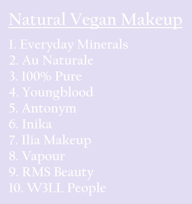 NaturalVeganMakeup
