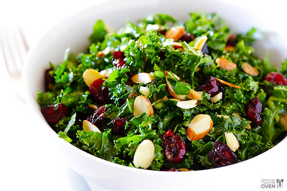 Kale-Cranberry-Salad